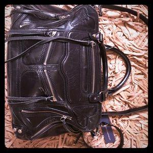 Rebecca Minkoff Leather Handbag Purse with tassels
